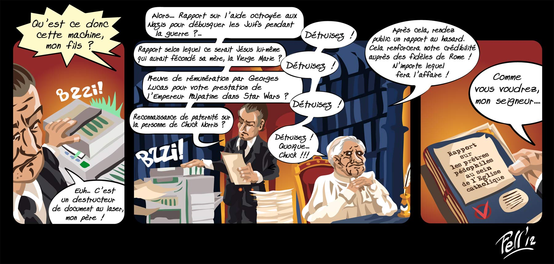 Benoît XVI et son majordome